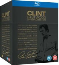 CLINT EASTWOOD - 20 FILM BLU RAY COLLECTION  BOXSET REGION B