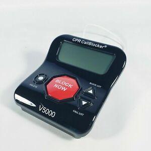 CPR Phone Call Blocker V5000 All in One Landline Call Blocker Stop Robocalls