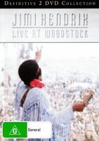 JIMI HENDRIX Live At Woodstock 2DVD BRAND NEW NTSC Region 0