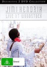 JIMI HENDRIX Live At Woodstock 2DVD BRAND NEW NTSC Region 0