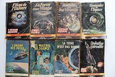 lot de 8 livres collection ANTICIPATION de chez fleuve noir