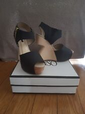 Senso willow cut out wedge sandal