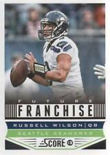 2013 Score Football #327 Russell Wilson Future Franchise Seahawks