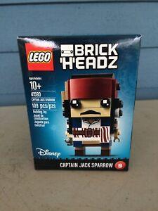 New LEGO Disney Brick Headz 42593 Captain Jack Sparrow Sealed NIB