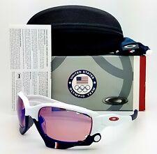 NEW Oakley sunglasses Jawbone TEAM USA Polished White G30 Iridium GENUINE 24-300