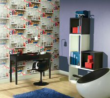 Arthouse Boys Life Multi Kids Girls Feature Wall Bedroom Wallpaper 10m 696000