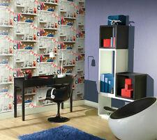 Arthouse Boys Life Multi Kids Girls Feature Wall Bedroom Wallpaper 10m 696000