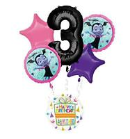 Mayflower Products Vampirina 3rd Birthday Party Supplies Balloon Bouquet