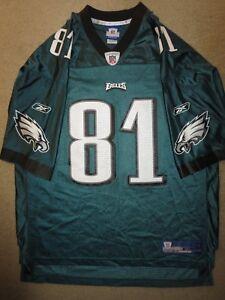 Terrell Owens #81 Philadelphia Eagles Reebok Super Bowl NFL Jersey XL