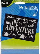 Bucilla Plaid My Great Adventure Counted Cross Stitch Kit 5 X 7