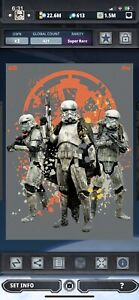 Topps Star Wars Digital Card Trader Solo Distant Dystopia Stormtroopers Insert