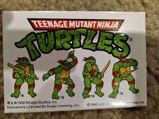 Vintage Ninja Turtles 1990 Calculator Pizza Points Pocket Solar