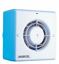 Manrose CF100T Centrifugal Bathroom / Toilet Extractor Fan with Timer for 100...