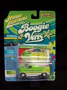 Johnny Lightning Boogie Vans 1976 Ford Econoline Van Limited Edition.