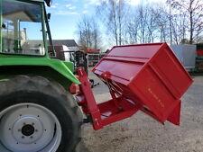 Heckmulde 140 x 90 cm, hydraulisch kippbar - Traktormulde Transportmulde Traktor