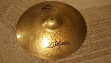 "Used 18"" Zildjian Z Custom Rock Crash Cymbal Excellent"