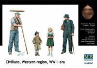 Masterbox 1:3 5 Scala - Contadini Europa Occidentale WWII Era MAS3567