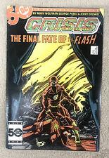 Crisis On Infinite Earths 8 Nov 1985 DC Flash VF/NM condition
