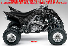 Invision décor Graphic Kit ATV yamaha raptor yfm 125/250/350/660/700 NITRO B