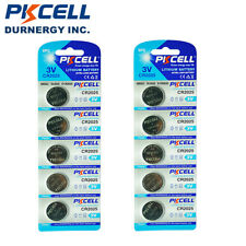 10x CR2025 2025 DL2025 BR2025 3V Lithium Watch Button Coins Cell Battery PKCELL