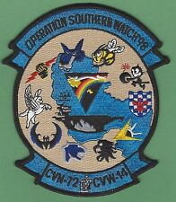 CVN-72 CVW-14 USS ABRAHAM LINCOLN OPERATION SOUTHERN WATCH 1998 CRUISE PATCH