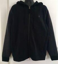 AllSaints Men's Black Osler Zip Hoody - M