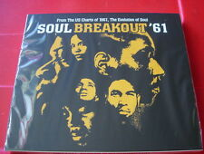 Soul Breakout '61 2-CD NEW SEALED Sam Cooke/Mary Wells/Impressions/Jackie Wilson