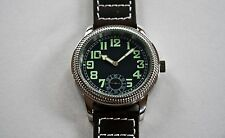 B-UHR vintage pilot watch,stainless steel, brand new in box + warranty card!
