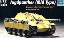 A tromba - Jagdpanther Mid Medio Tipo - 1:72 Modello Kit Pak 43/3 L71 88mm