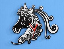 White Horse Silhouette - Wall Clock
