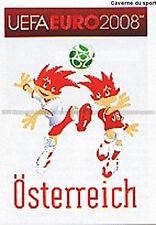N°150 VIGNETTE PANINI MASCOTTE OSTERREICH EURO 2008 STICKER