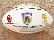USC vs. OKLAHOMA, 2005 NATIONAL CHAMPIONSHIP FEDEX ORANGE BOWL FOOTBALL