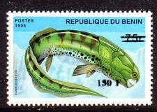 POISSON PRÉHISTOIRE Bénin surch de 2000 1265 ** cote 100euro FISH PREHISTORY