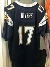 PHILIP RIVERS LOS ANGELES CHARGERS REEBOK YOUTH XL ON FIELD JERSEY NFL SAN DIEGO