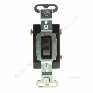 Pass & Seymour BROWN Low Voltage Momentary Switch Heavy Duty Toggle 3A 24V AC/DC