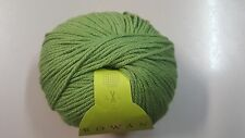Rowan Bella Organic DK #5 Basil Green 50g Organic Wool & Cotton Mix