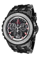 New Men's Invicta 16663 Jason Taylor Reserve Swiss Chrono Black Dial Poly Watch