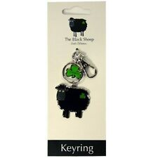Irish Black Sheep Keyring