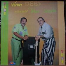 HENRI DEBS ARTISTE INVITEE MAX SEVERIN TUBE  FRENCH LP 1990