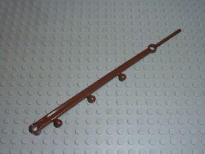 LEGO Oldbrown Support Pole 1 x 20 Tepee Réf 30129 Set 6763/6766/6746/6748