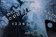 Ouija Spirito Strega Board Game & Planchette EVP Ghost Hunt Magick pagane Fortuna