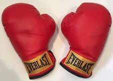 Everlast Youth 7oz RED Boxing Gloves Mike Tyson Sugar Ray Leonard Jack Dempsey