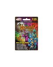 Jewel Crafter's BUNDLE new Wizard 101 Game Card Crowns Bountiful Mine Pet +