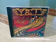 Y & T Mean Streak cd Japan import Y&T 1983 POCM-1985 A&M label