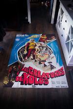 THE HUMAN DUPLICATORS 4x6 ft Vintage French Grande Movie Poster Original 1978