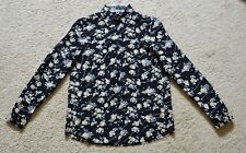 The Kooples Floral Dot Silk Shirt Size XS