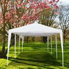 Quictent 10x30 FT White Party Wedding Tent Canopy Gazebo 8 Removable Sidewalls