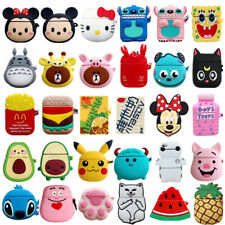 3D Cute Cartoon Animals Silicone Wireless Headphone Case For Apple AirPods 1 / 2