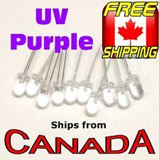 10x UV PURPLE 5mm Single LED