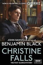Christine Falls Quirke Mysteries Book 1 by Benjamin Black NEW BOOK (P/B 2013)